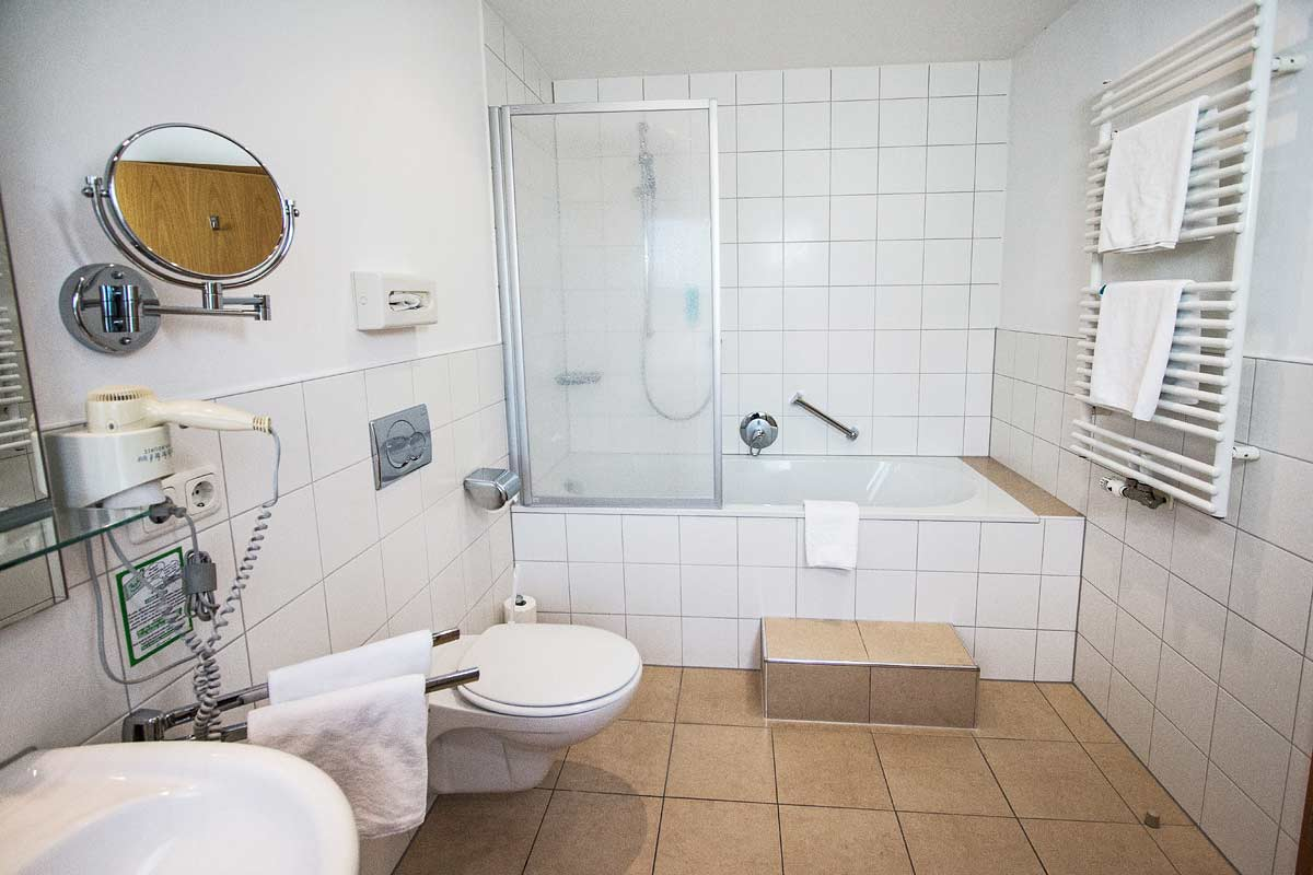 Doppelzimmer im Landgasthof Pauliwirt