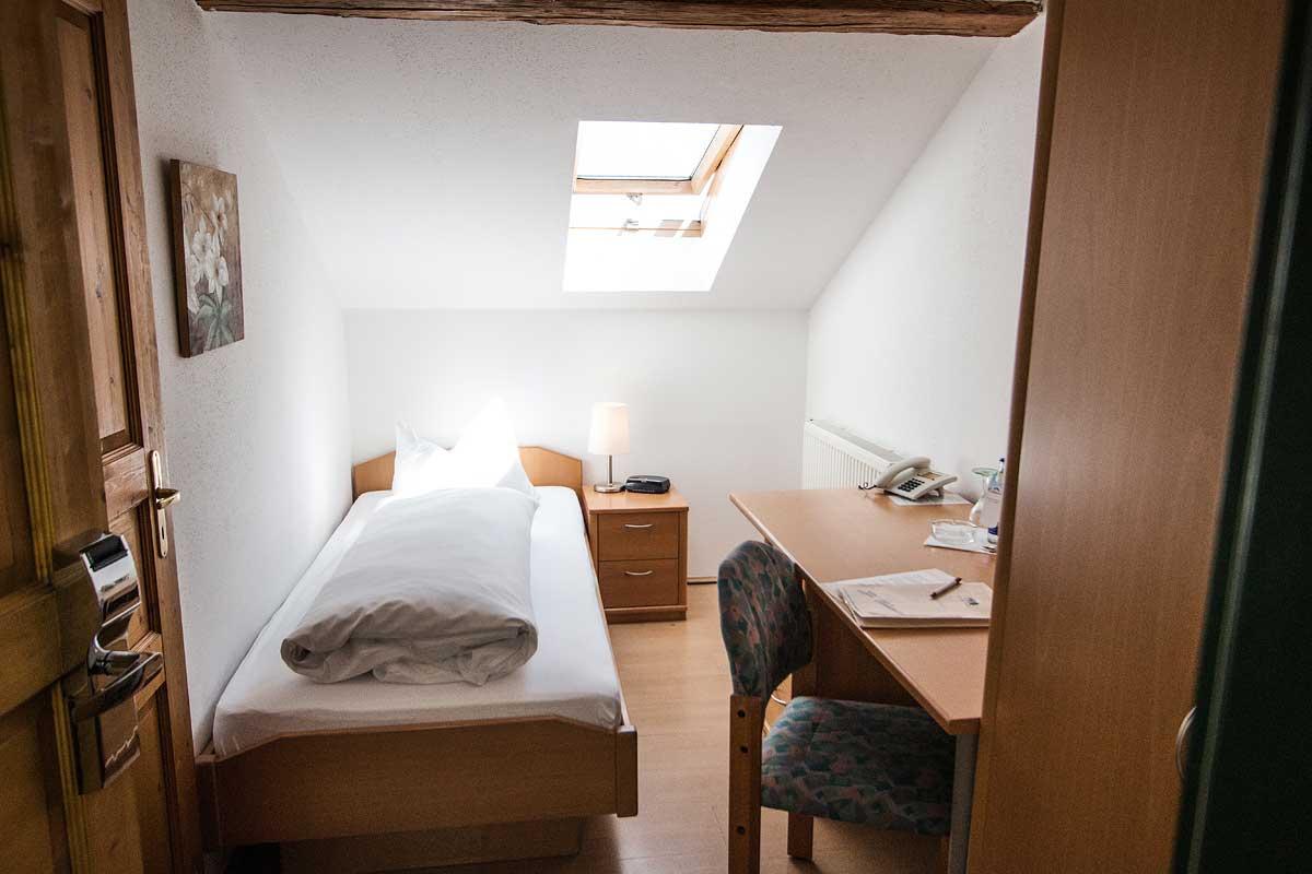 Einzelzimmer im Landgasthof Pauliwirt