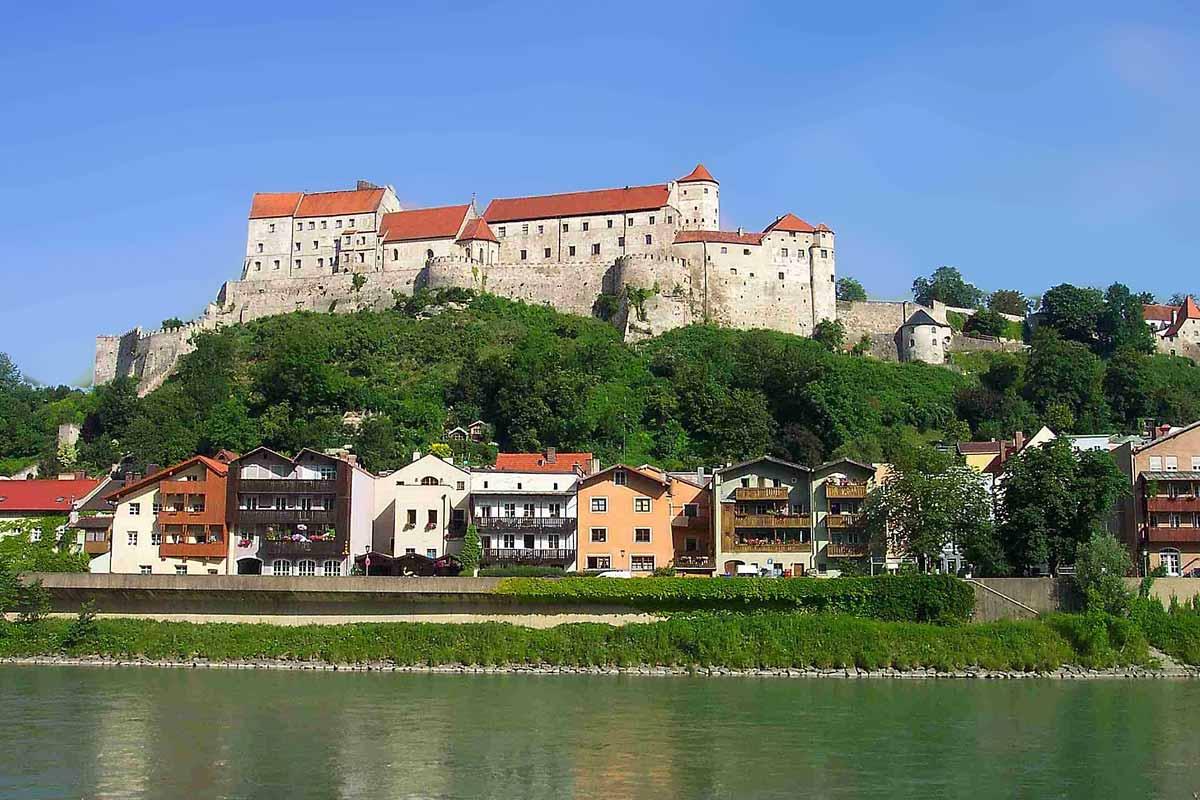Burghausen - Städte in der Umgebung vom Pauliwirt