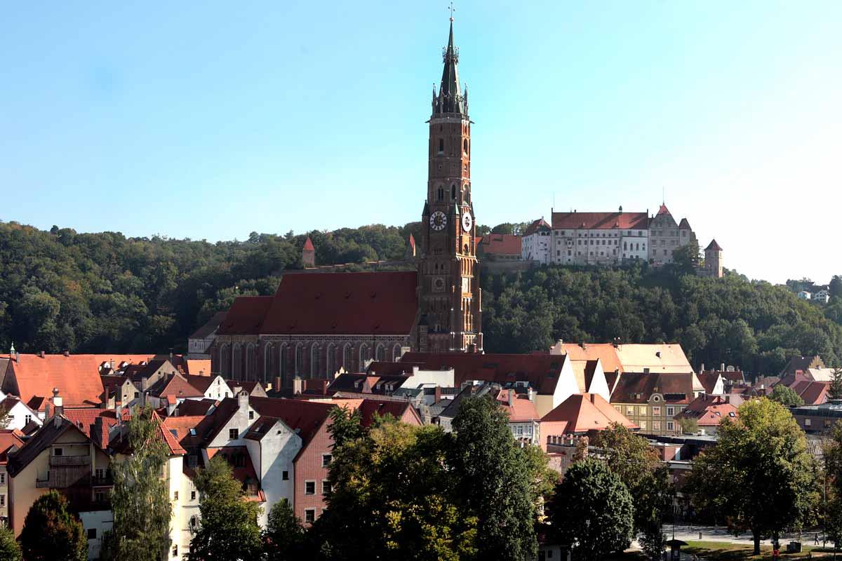 Landshut - Städte in der Umgebung vom Pauliwirt