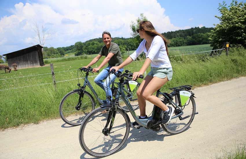 Rent a bike beim Landgasthof Pauliwirt