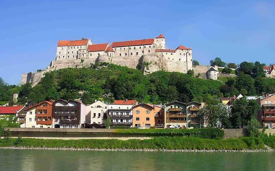 Burghausen - Städte in der Umgebung vom Landgasthof Pauliwirt