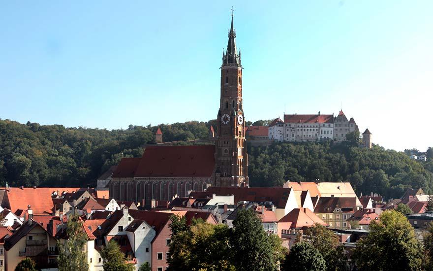 Landshut - Städte in der Umgebung vom Landgasthof Pauliwirt