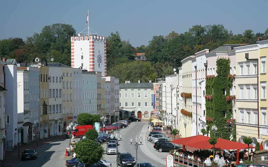 Mühldorf am Inn - Städte in der Umgebung vom Landgasthof Pauliwirt